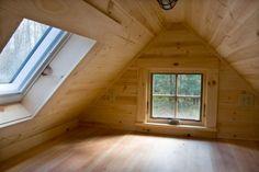 Loft short from reverse angle - Fencl. Tiny House Company