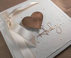 Dieser zarte Schriftzug gefällt mir besonders gut😊  #hochzeitskarten #embossingpowder #embossing #prägefolder #ilovepaper #iloveembossing… Tableware, Script Logo, Card Wedding, Dinnerware, Tablewares, Place Settings