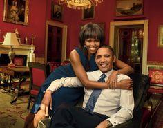 Barack And Michelle Obama We   Michelle Obama and Barack Obama for Vogue.