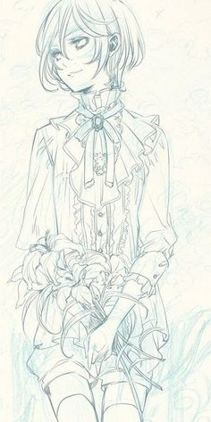 Black Butler alois trancy -Beautiful picture !