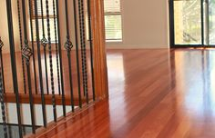 the #floorboards in the photo were permanently fitted to an old particle board subfloor in this first floor #renovation in #BeaumontHills
