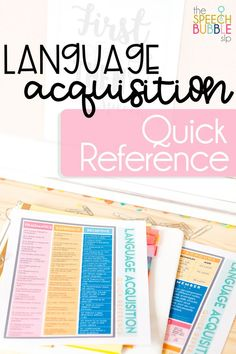 This quick reference is perfect for your speech or occupational therapy room!  Keep it handy at all times to check your students' progress.  This reference is FREE for my subscribers! Head on over to my website and subscribe today!