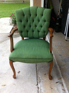 Pinterest Addict - Tulip Fabric Spray Paint Chair - Pinterest Addict