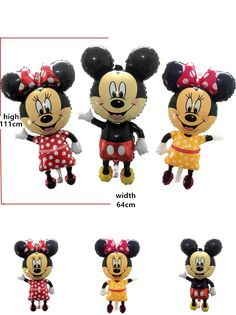 [Visit to Buy] QGQYGAVJ The new  children's toys birthday party balloon decoration foil balloons wholesale oversized  Minnie  Mickey #Advertisement