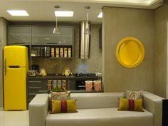 Cozinha planejada pequena, moderna e encantadora | Decor Alternativa