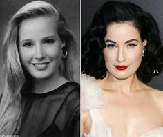AMAZING. Dita Von Teese before she was Dita...and she's still gorgeous.