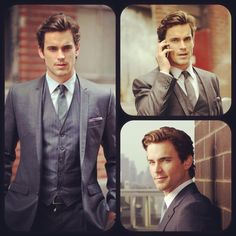 (Original Pinner comment) Fifty (50) Shades of Grey :: Matt Bomer as the perfect Christian Grey!! This is how I imagine him to be like.. the hair, the suit, the look... everything as described in the books