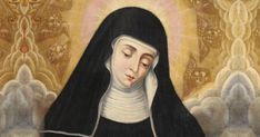Saint Aurea was a native of Villavelayo, Spain. During the Moorish occupation of Spain, she became a nun at a nearby Benedictine San Millan de la Cogolla abbey and lived as a solitary famed for her visions and miracles.
