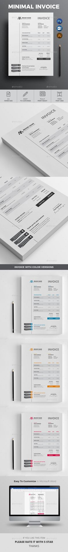 Service Billing Template for Germany company invoice Pinterest - customize invoice