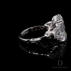 We've taken the guesswork out of finding the perfect diamond so you can focus on selecting Your Dream Ring™. Pictured here: our LUCY design. Three Stone Engagement Rings, Beautiful Engagement Rings, Engagement Ring Cuts, Pretty Rings, Luxury Jewelry, Sparkles, Diamond Jewelry, Jewlery, Vintage Jewelry