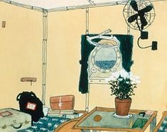 Cabin with Porthole, a painting by Elizabeth Bishop