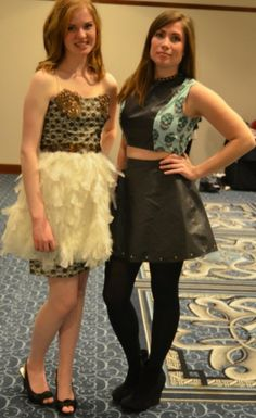 Designs by Cazenovia College students were modeled at the 2013 Upstate Gala