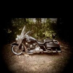 A Harley...