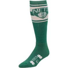Brooklyn Nets St. Patrick's Day Super Tube Socks - Kelly Green