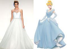 Cinderella from Alfred Angelo's Disney Princess Wedding Gowns This ball gown silhouette is pure elegance. Disney Inspired Wedding, Disney Wedding Dresses, Cinderella Wedding, Wedding Gowns, Cinderella Disney, Disney Weddings, Princess Wedding, Gown Gallery, Wedding Dress Gallery