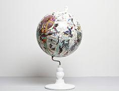 East Meets West Globe