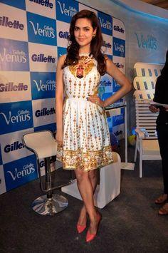 Esha Gupta in Manish Arora. http://www.vogue.in/content/best-dressed-week-120#6