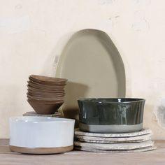 Simple shapes from pret-a-pot Serveware, Tableware, Contemporary Ceramics, Ceramic Planters, Simple Shapes, Container, Plates, Handmade, Shop