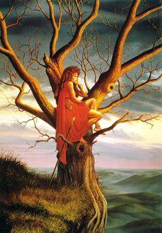 Dechara's Tree / 1990 (Larry Elmore)