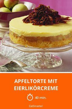 Apfeltorte mit Eierlikörcreme - smarter - Zeit: 40 Min. | eatsmarter.de