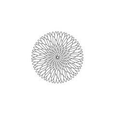 stock.xchng - geometric flower 27 (stock illustration by jmjvicente) ❤ liked on Polyvore