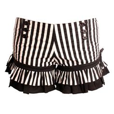 Wild Card Bloomers - Hot Pants - Striped