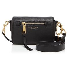 120b77eced77 Marc Jacobs Recruit Black Leather Cross Body Bag. Get the trendiest Cross  Body Bag of. Tradesy