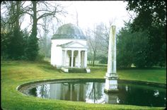 This folly is just like the one I imagined in Three Schemes and a Scandal...the perfect spot for a Regency hero and heroine to be trapped together.