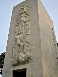 US War Memorial, Philippines Intramuros, Manila, Philippines, Mount Rushmore, War, Memories, Mountains, Places, Nature