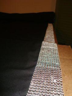 Wedding Aisle Runner with Rhinestone Fabric 25 by TheWeddingHub, $87.50