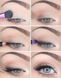 Light Color Wing Eye-Makeup Tutorial.