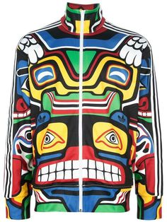 superior quality bd30f aac74 Winter ADIDAS ORIGINALS BY JEREMY SCOTT  Totem Pole Tt  Jacket This jacket  and it s use of lines moves the eyes side to side of my body.