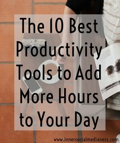 The 10 Best Productivity Tools to Add More Hours to Your Day - One of the best things I've learned to grow my business is to figure out how to get more done in less time. It's more than just scheduling things in your calendar. It's more about finding programs that you can use both on your computer and your mobile devices. via @penneyfox