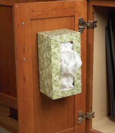 Plastic Grocery Bag Storage Solution