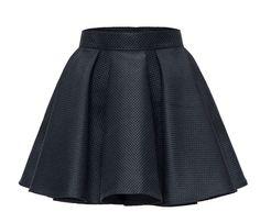 Школьный стиль, школьная юбка, юбка, чёрная