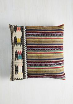Beat Front Property Pillow | Mod Retro Vintage Decor Accessories | ModCloth.com