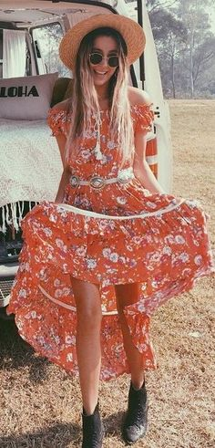 Gypsy Off The Shoulder Maxi Dress Source