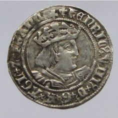 Medieval   House of Tudor 1485-1603AD   Henry VIII Silver Groat   1509-1547AD   25mm, 2.72g