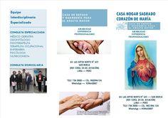 CASA HOGAR SAGRADO CORAZÓN DE MARÍA.   Central Informativa del Adulto Mayor