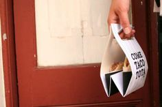 Food-Cradling Takeout Packages#Repin By:Pinterest++ for iPad#