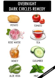 Given below are 10 home remedies to diminish dark circle around your eyes. The natural treatments can be used overnight to not only lighten dark circles but ...