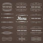 Set of design elements and frameworks.