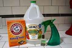 Natural Cleaning Recipes: Homemade Cleaning Products for your Whole House