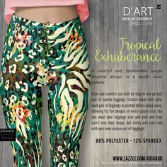 "TROPICAL EXHUBERANCE... ""A colorful and fashionable jungle inspired design in a…"