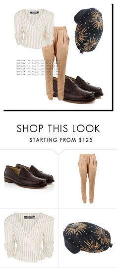"""""""I Break The Rules"""" by missmygreenhair ❤ liked on Polyvore featuring Bass Weejuns, 3.1 Phillip Lim, Jacquemus and Schiaparelli"""