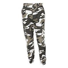 5eb6a09570c OVERDOSE Pantalon à Imprimé Camouflage Femme Jogging Casual Sports Taille  haute Trousers Jeans (EU  · Camoflauge PantsCamouflage Cargo PantsCamo ...