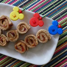 Lilo and Stitch Inspired Recipe: Peanut Butter and Jelly Pinwheel Skewers!