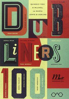 Dubliners 100. Quindici voci d'Irlanda, la nuova Gente di Dublino, autori vari, pubblicato da minimum fax. La copertina è di Graham Thew.