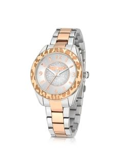 Just Cavalli Just Style Two Tone Stainless Steel Women's Watch