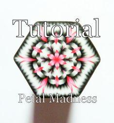 TUTORIAL - The Petal Madness Cane - Polymer Clay Cane Tutorial